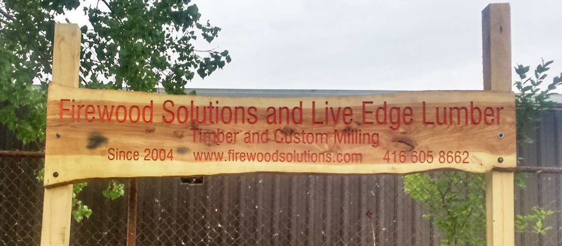 Firewood Solutions and Live Edge Lumber